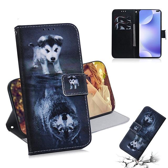 fodral för xiaomi 9 lite / mi 9t / mi 9t pro plånbok / korthållare / vänd helkroppsväskor djur pu läder för xiaomi cc9 / cc9e / anteckning 10 pro / redmi k30 / k20 pro / anteckning 8t / anteckning 8/8