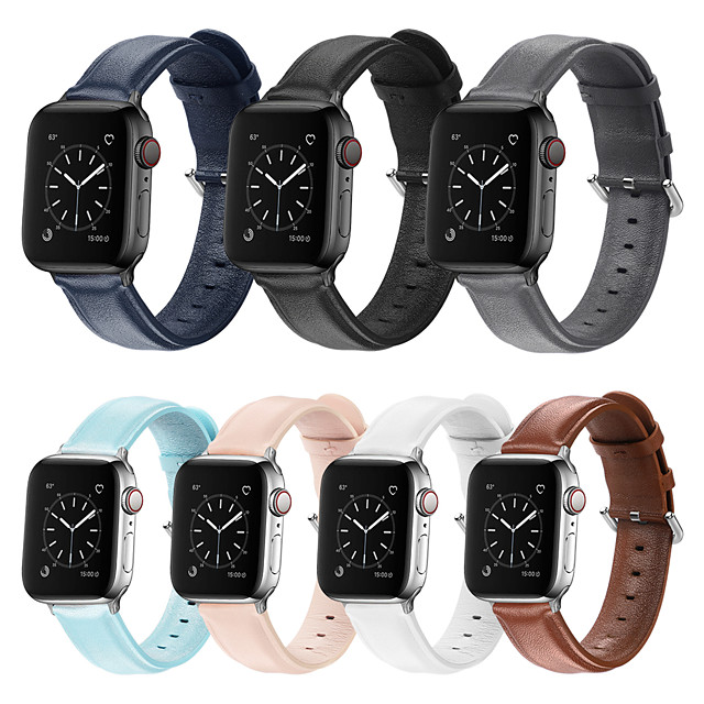 Pogledajte Band za Apple Watch Series 5/4/3/2/1 Apple Sportski remen Umjetna koža Traka za ruku