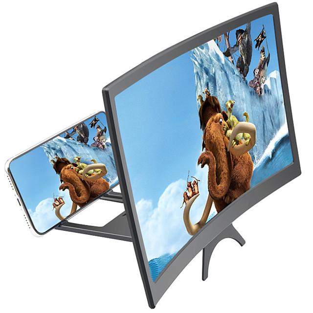 Accroche Support Téléphone Bureau Pliable Loupe d'écran ABS Accessoire de Téléphone iPhone 12 11 Pro Xs Xs Max Xr X 8 Samsung Glaxy S21 S20 Note20