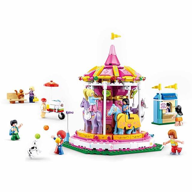 Bouwblokken Educatief speelgoed Bouwset speelgoed 762 pcs Tekenfilm verenigbaar Plastic schelp Legoing voortreffelijk Handgemaakt Decompressie Speelgoed Doe-het-zelf Jongens en meisjes Speeltjes