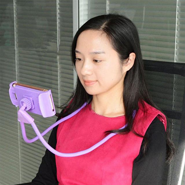 מחזיק טלפון סלולרי, מעמד טלפון סלולרי אוניברסלי, סוגר עצלן, תקעים מסתובבים בחינם עם פונקציה מרובה סוגר מסתובב 360 מעלות לאייפון סמסונג