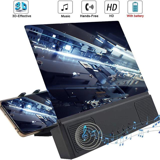 Accroche Support Téléphone Lit Bureau Téléphone Portable Support de bureau pour téléphone Ajustable Nouveau design Loupe d'écran ABS Accessoire de Téléphone iPhone 12 11 Pro Xs Xs Max Xr X 8 Samsung
