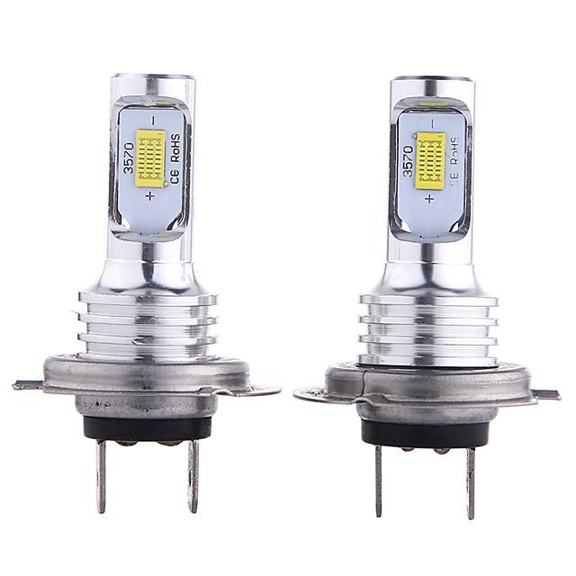 otolampara 2 pezzi h10 / h9 / h7 lampadine per auto 35 w csp 3000 lm 2 fari a led per universali tutti i modelli tutti gli anni