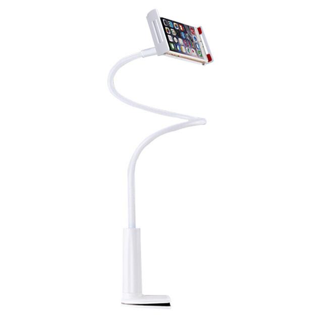 Accroche Support Téléphone Bureau iPad Tablette Support Ajustable Type de boucle Ajustable ABS Accessoire de Téléphone iPhone 12 11 Pro Xs Xs Max Xr X 8 Samsung Glaxy S21 S20 Note20