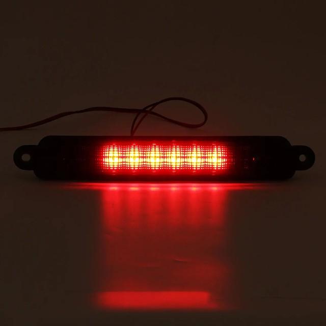 μαύρος φακός για 04-15 nissan armada / infiniti qx56 high mount led 3rd 3rd tail brake lights lamp