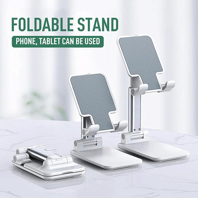 Accroche Support Téléphone Lit Bureau iPad Téléphone Portable Tablette Support de bureau pour téléphone Ajustable Nouveau design Métal Accessoire de Téléphone iPhone 12 11 Pro Xs Xs Max Xr X 8