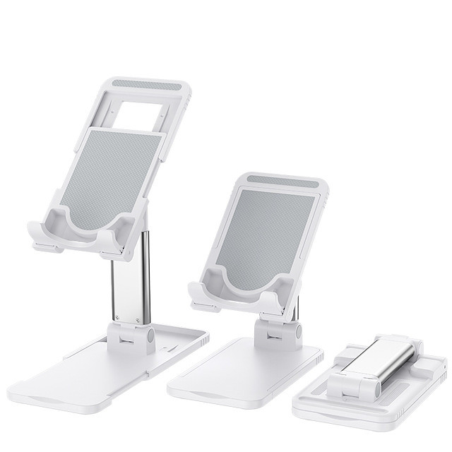 Masaüstü tablet tutucu iphone ipad tablet samsung huawei için katlanabilir masa telefonu tutucu ayarlanabilir telefon standı