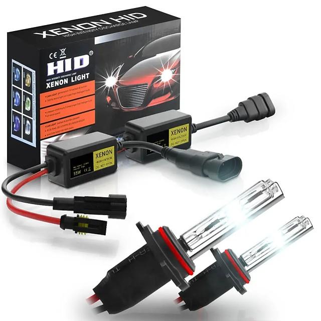 Kit de conversion de phares de voiture au xénon HID 6000K H1 H3 H4 H7 H8 / H9 / H11 9005 9006880 9012 sans erreur avec ballast