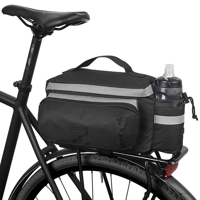 ROSWHEEL 10 L Borse posteriori da bici Ompermeabile Indossabile Resistente agli urti Borsa da bici Tessuto Poliestere PVC Marsupio da bici Borsa da bici Ciclismo / Bicicletta
