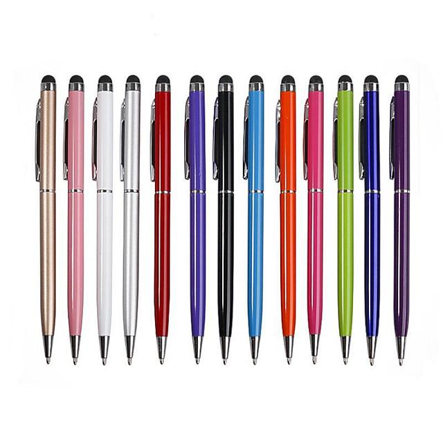 10 шт. 2 в 1 сенсорный экран стилус шариковая ручка планшет смартфон полезный дизайн планшет р для коврик для смартфона