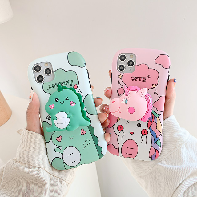 Coque Pour Apple iPhone 11 / iPhone XR / iPhone 11 Pro Antichoc / Avec Support Coque Bande dessinée TPU