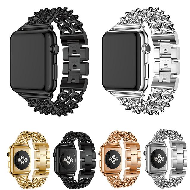 Klokkerem til Apple Watch Series 5/4/3/2/1 Apple Sportsrem Rustfritt stål Håndleddsrem