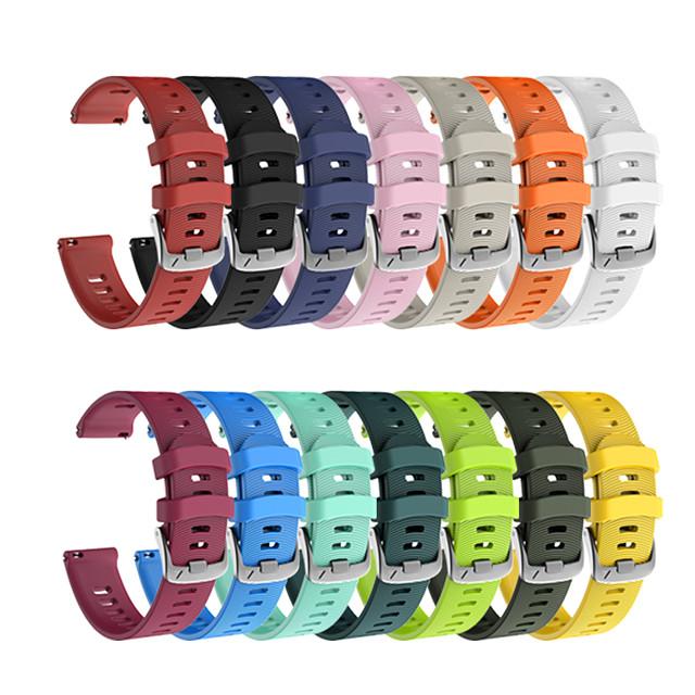 pasek do zegarka Forerunner 245m / Garmin Forerunner245 Garmin nowoczesny silikonowy pasek na nadgarstek