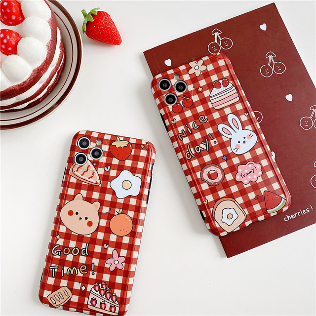 Cute Animal Bears Phone Case For iPhone 11 Pro Max se 2020 X XR XS Max 7 8 Plus Funny Cartoon Soft TPU Silicone Back Cover