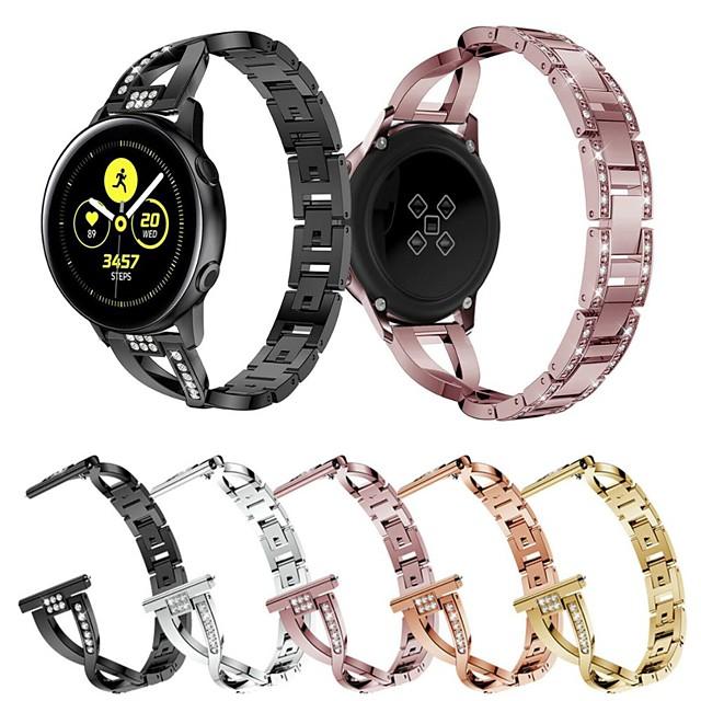 Ремешок для часов для Garmin vivoactive4S / Garmin Vivoactive 4 Garmin Дизайн украшения Нержавеющая сталь Повязка на запястье