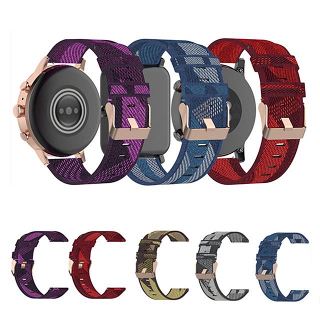 18 мм ремешок для часов для Garmin VivoActive 4S Vivomove 3S спортивный ремешок нейлоновый ремешок