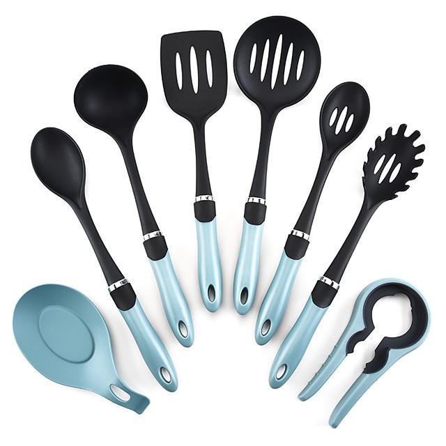 full body siliconen hittebestendige eetkamer en keuken set van 8 stuks