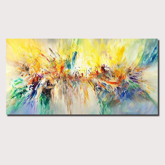 uljana slika ručno oslikana - apstraktni pejzaž, savremena moderna rastegnuta platna