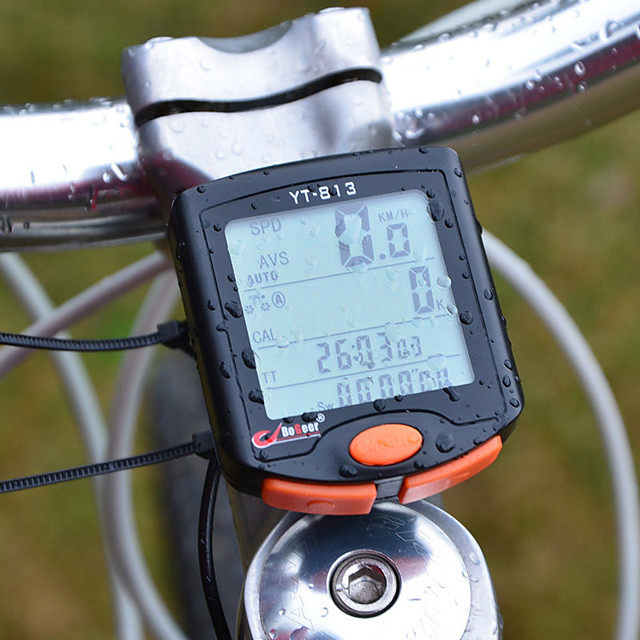 813 Computerino da bici Tachimetro 3-Bike Bici da strada Mountain bike Bicicletta pieghevole Ciclismo
