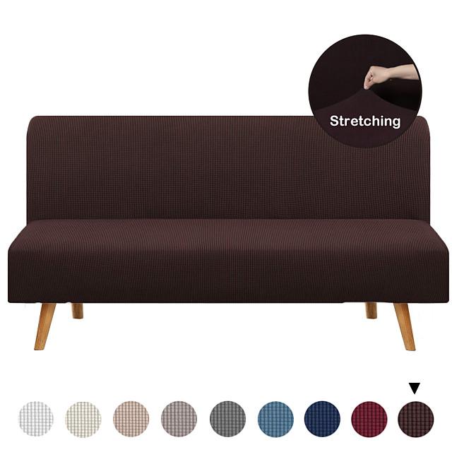 Housse de canapé Couleur Pleine Velventine Polyester / Coton Literie
