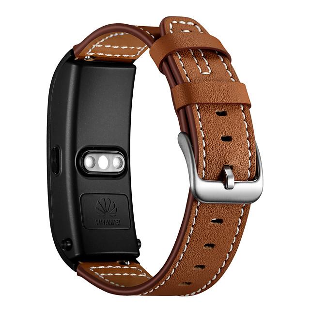 Watch Band için Huawei B5 Huawei Modern Toka Gerçek Deri Bilek Askısı