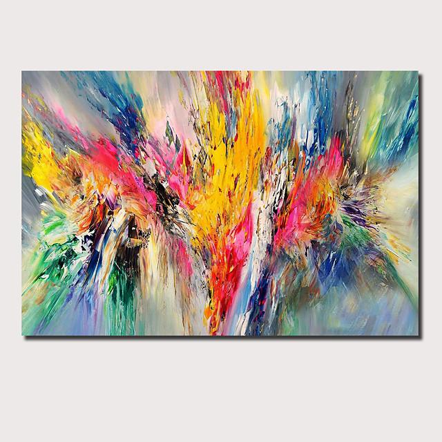 olejomalba ručně malované - abstraktní krajina moderní moderní natažené plátno