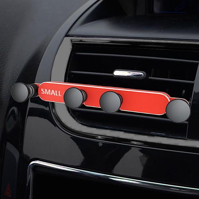 dispozitiv de prindere a telefonului Suport de telefon Mașină de telefon Mașină de metal invizibilă priză de priză universal Snap-mini suport de telefon de navigare pentru aproape toate celelalte