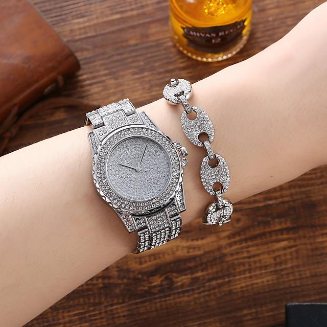 Pánské Sportovní hodinky Křemenný Formální styl Luxus Chronograf Analogové Stříbrná / Nerez / Velký ciferník