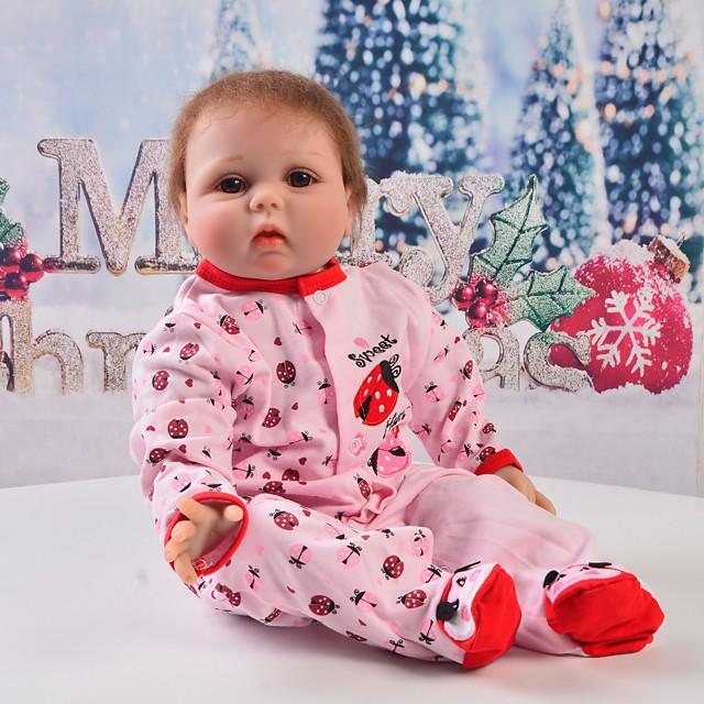 Vêtements de poupées Reborn Baby Accessoires de poupée Reborn Tissu en Coton pour poupée Reborn de 22 à 24 pouces Poupée Reborn Non Incluse Insecte Doux Pur fait main Fille 1 pcs