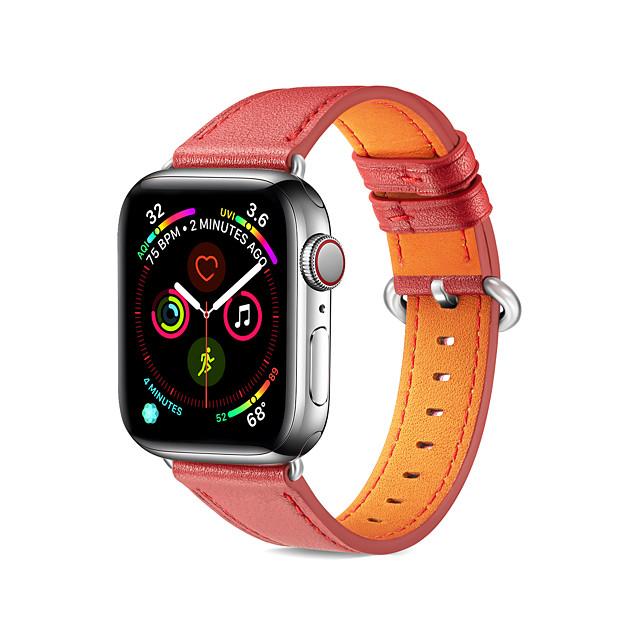 bandă de ceasuri pentru ceasuri de mere seria 5 4 3 2 1 buclă de piele cu curea de mână din piele naturală