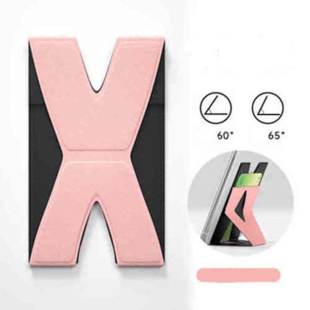 luiaards ultradunne en pasteable draagbare onzichtbare mobiele telefoonstandaard