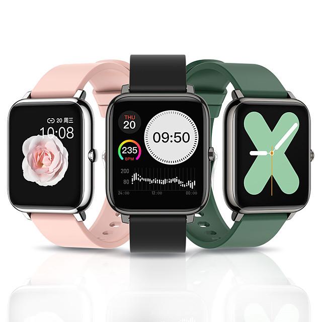 P22 Smart horloge Bluetooth Timer Stopwatch Stappenteller Waterbestendig Aanraakscherm Hartslagmeter IP 67 42,5 mm horlogekast voor Android iOS Man vrouw / Bloeddrukmeting / Sportief / Lange stand-by