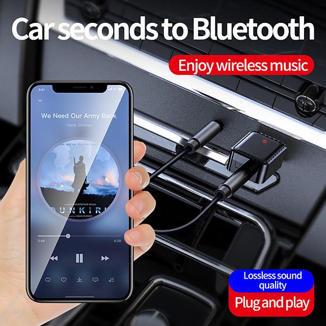récepteur émetteur bluetooth usb avec 3,5 mm audio aux haut-parleurs audio de voiture audio mobile