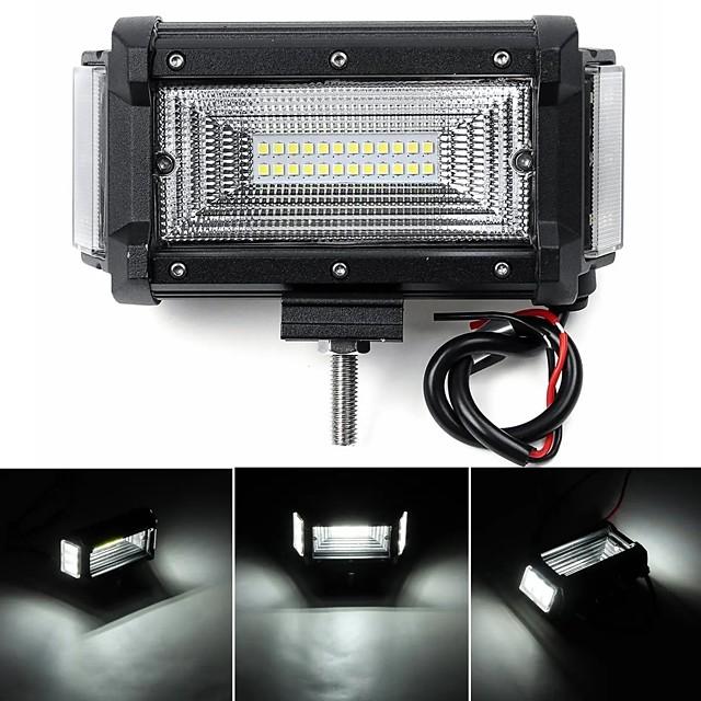 2ピース5.5インチ40ワット40LED 3200LM作業ライト防水バーコンボ駆動ランプオフロードSUV ATV UTV 4WD