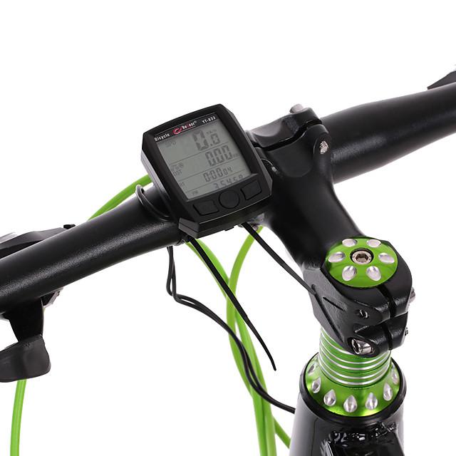 833 Computerino da bici Ompermeabile Ciclismo Luci a LED Bici da strada Mountain bike Bicicletta pieghevole Ciclismo