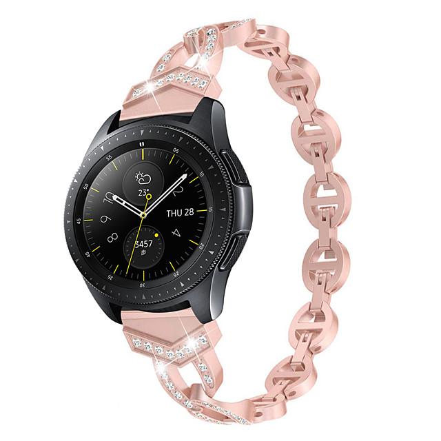 vrouwen diamanten armband voor ticwatch pro / ticwatch e2 / ticwatch s2 ticwatch 2 / ticwatch e / ticwatch c2 quick release riem metalen pols riem
