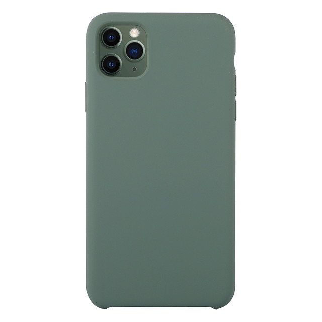 custodia per apple iphone 7 8 7plus 8plus x xs xr xsmax 11 11pro 11promax cover posteriore antiurto silicone tinta unita