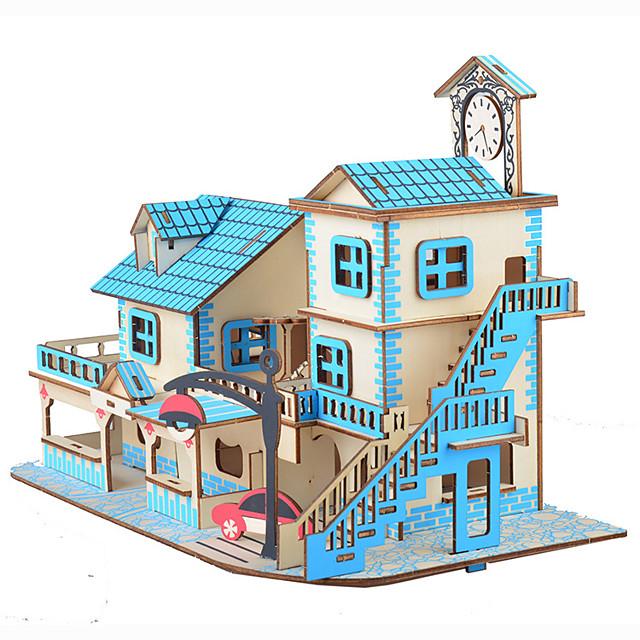 35 pcs Maison 3D Puzzle Puzzle adulte Adorable Interaction parent-enfant Jumbo Enfant Adulte Jouet Cadeau