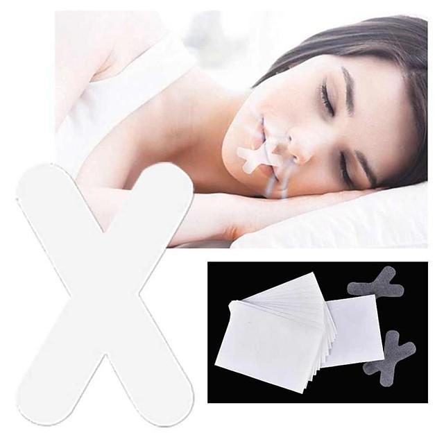 4 stk natt-snorkende klistremerke for søvnstrimler avansert mild munnbånd for å puste bedre nattesøvn