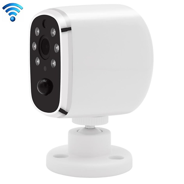 720p الكاميرا الذكية بالأشعة تحت الحمراء للرؤية الليلية البير كشف منخفضة الطاقة المنزلية داخلي واي فاي مراقبة عن بعد كاميرا صوت إنترفون
