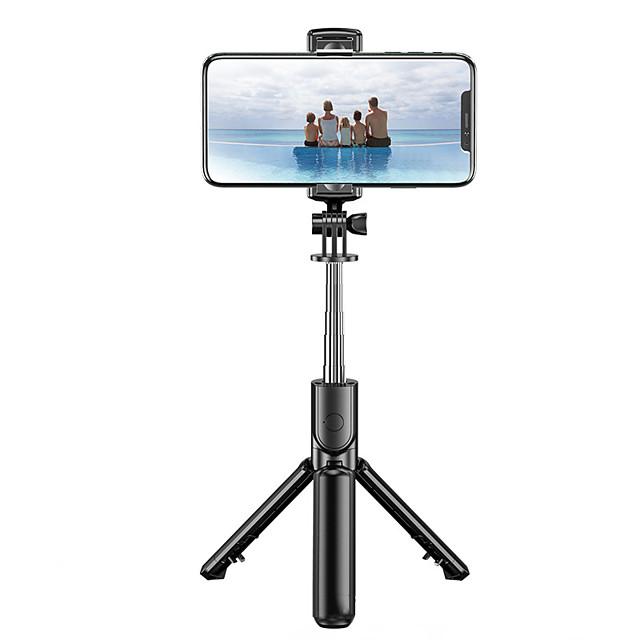 s03 bastone selfie wireless bluetooth 3 in 1 per iphone / android / huawei monopiede portatile pieghevole otturatore mini treppiede remoto