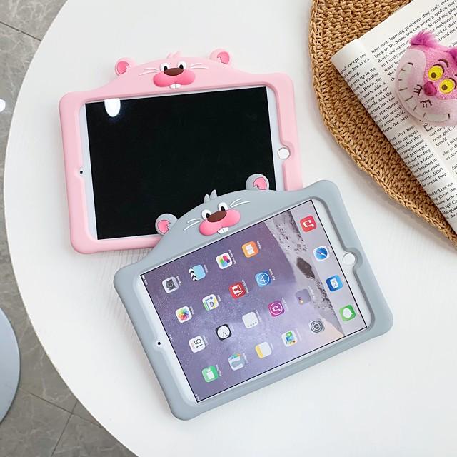 telefono Custodia Per Apple Per retro iPad Air iPad 4/3/2 iPad Pro 11 pollici iPad 10.2''(2019) iPad Pro 10.5 iPad Air 2 iPad Pro 12,9 pollici iPad Pro 9.7 '' Con supporto Fantasia / disegno Cartoni