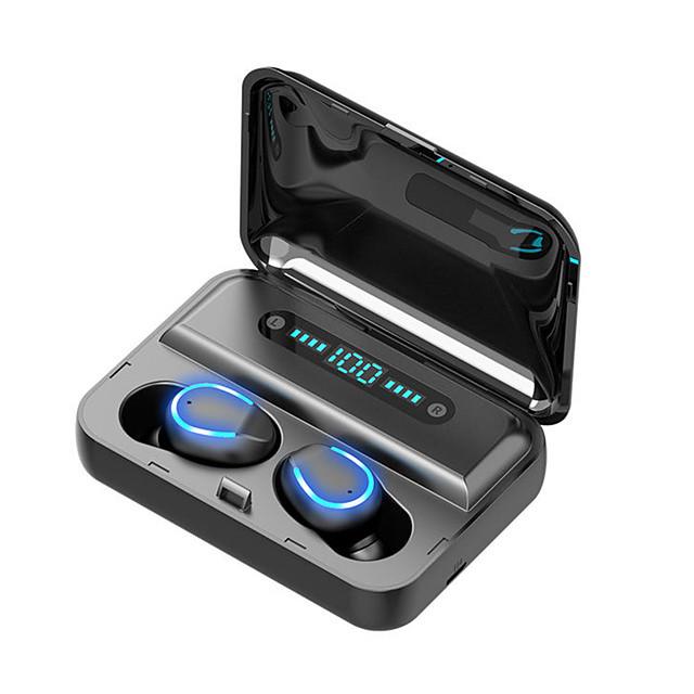 LITBest F9-5 Auricolari wireless Cuffie TWS Senza filo Stereo Dotato di microfono Con la scatola di ricarica per Apple Samsung Huawei Xiaomi MI Cellulare