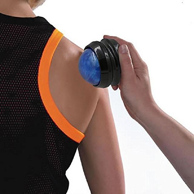 1 stk massasje rullekule massasje kroppsterapi fot midje hofte rygg relaxer stress frigjør muskelavslapping utstyr tilfeldig farge