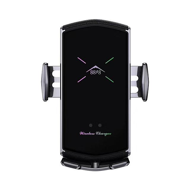 e6 billader med magnetisk sugehode multifunksjonell telefonstativ smart trådløs hurtiglading som passer for alle mobiltelefoner