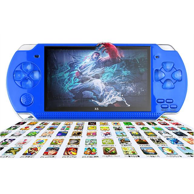 10000+ Games in 1 Videogioco portatile a mano Console di gioco Multi-funzione con fotocamera posteriore Supporta l'uscita TV Classico Videogiochi retrò con 4.3 pollice Schermo Per bambini Per adulto
