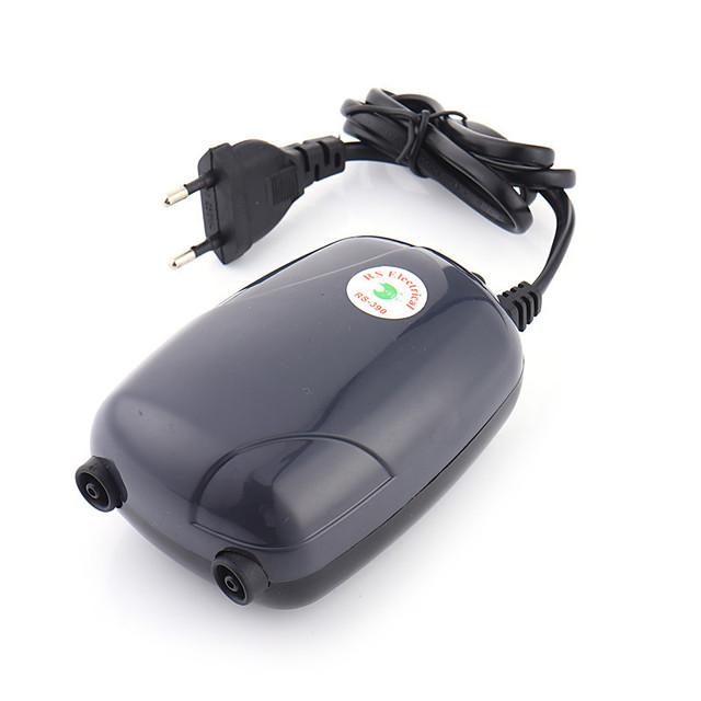 Acquari Acquario Pompe aria Aspirapolvere Risparmio energetico Silenzioso Plastica 220 V / #