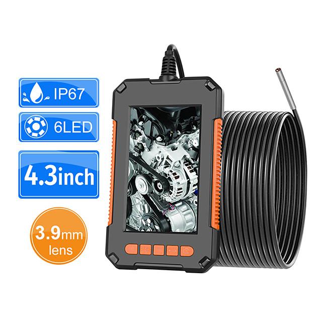 3.9mm industriële endoscoop camera 1080 p hd 4.3 ips scherm pijp afvoer riool kanaal inspectie camera ip67 snake camera 2m
