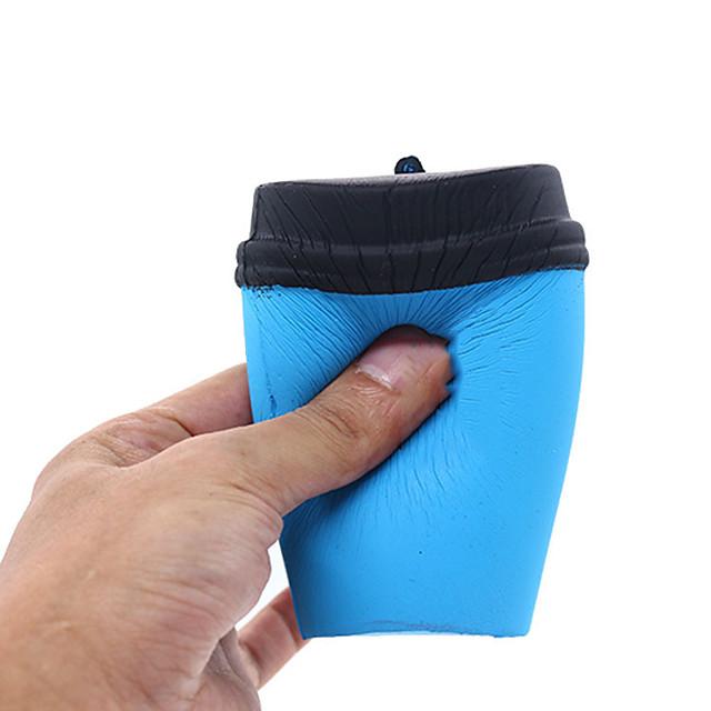 ألعاب الضغط ارتفاع بطيء مخفف الضغط فنجان قهوة التوتر والقلق الإغاثة ضغط اللعب KAWAII راتينج من أجل الطفل للبالغين الجميع 1 pcs