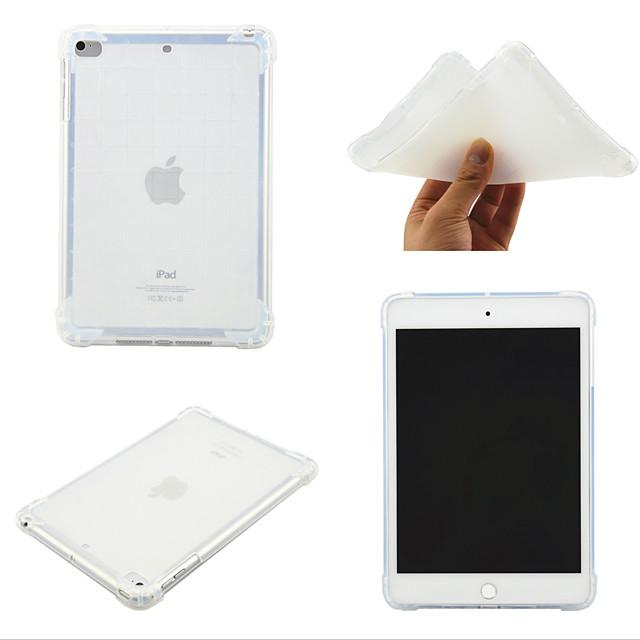 telefono Custodia Per Apple Per retro iPad Mini 3/2/1 iPad Mini 4 iPad Mini 5 Rotazione a 360° Resistente agli urti Transparente Tinta unita TPU